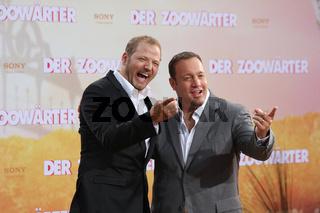 Europapremiere 'Der Zoowärter' - Mario Barth, Kevin James