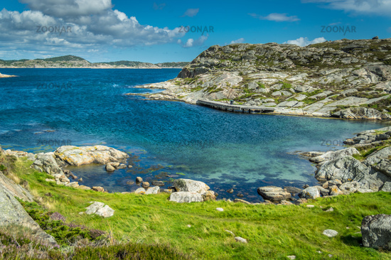 The Norwegian south coast
