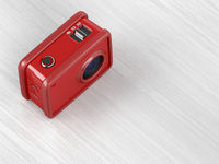 Red action camera