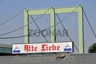 Die 'Alte Liebe' in Köln, NRW, Deutschland