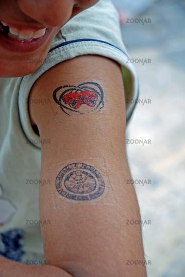 Tattoo upper arm