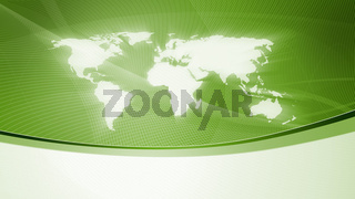 Abstrakter Hintergrund mit Weltkarte, grün