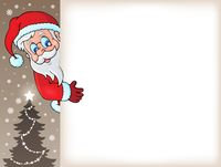 Lurking Santa Claus with copyspace 5