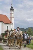 Leonhardi pilgrimage in Dietramszell