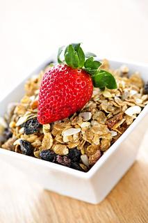 Breakfast granola cereal