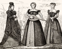 costumes for women in the 16th century