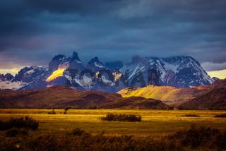 Wild nature in Chile