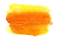 Vivid watercolor stain