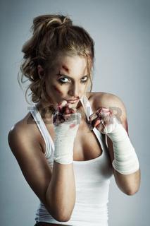 Street fighter.