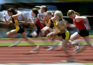 50m-Lauf Schülerinnen