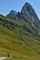 Dolomite alps; South Tyrol; Italy; natural preserve puez-geisler; Fermeda