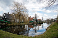 Zaanse Schans Village in Holland