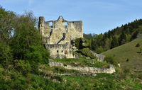 swabian alb; germany; castle; ruin; Bichishausen