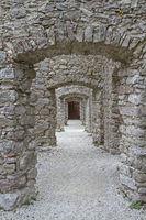 In Belfort Castle in Trentino