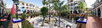 Panoramic view of Villamartin Plaza. Spain