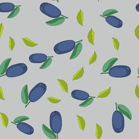 Honeysuckle cartoon seamless texture 656