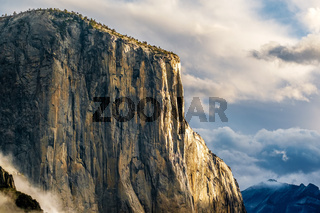 El Capitan rock in Yosemite National Park