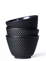 Tee Becher aus schwarzen Gusseisen