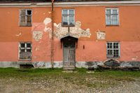 Ruined old home or house in Tallinn, Estonia