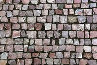Paving stones street