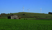 wind farm; offshore wind farm; swabian alps; Germany;