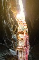 Petra, Jordan  ancient ruins - antique site