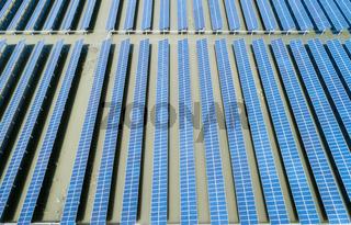 photovoltaic generation on pond