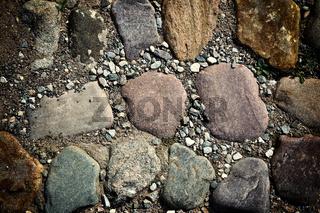 Stone path background