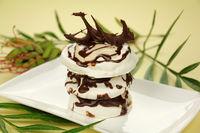 Chocolate Meringue Stack