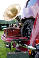 In car entertainment 1940s style