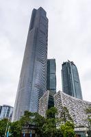 new buildings in Zhujiang New Town of Guangzhou