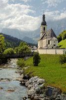 Ramsau church