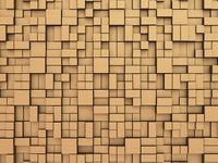 Abstract random boxes background