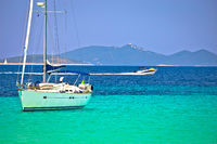 Dugi Otok island Pahthera bay sailing and yachting destinaion