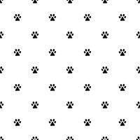 Animal's footprint pattern