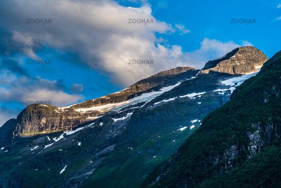 Beautiful landscape in Leon in Norway