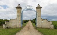 Gate to Chateau Balestard