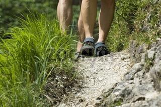 Klettersteig 'Triftsteig' im Nationalpark Kalkalpen