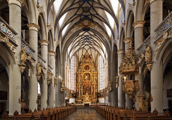 Catholic Church at the Archbishopric , Cologne, Rhineland, North Rhine-Westphalia, Germany, Europe