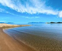 Sandy beach (Albania).