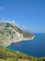 HR--Makarska Riviera--Küste bei Brela.jpg