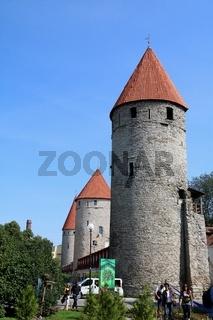Estland, Tallinn, Türme der Altstadt