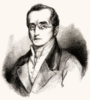 Silvio Pellico, 1789-1854, an Italian writer, poet, dramatist and patriot