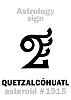 Astrology: asteroid QUETZALCOHUATL