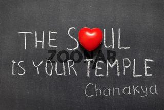 soul is temple