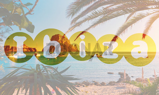 Cala d'Hort beach. Ibiza