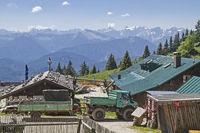 Stie hut on Brauneck