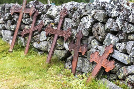 Old iron crosses