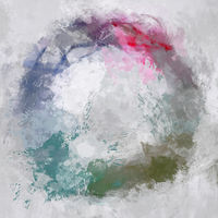 abstract stylish colorful circle