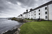 Building of the whiskey distillery Laphroaig